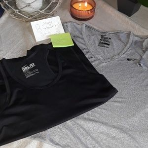 NIKE DRY FIT  WOMENS SPORT TOPS  SIZE M